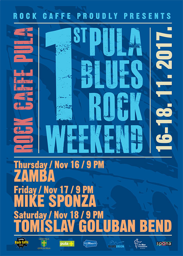1ST PULA BLUES ROCK WEEKEND