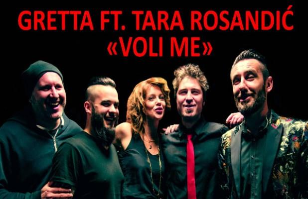Gretta Feat. Tara Rosandic - Voli Me (Radio Edit) cover 618